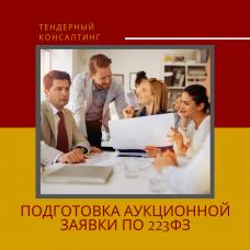 Подготовка аукционной заявки по 223ФЗ