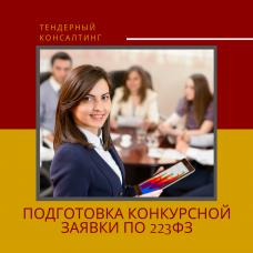 Подготовка конкурсной заявки по 223ФЗ